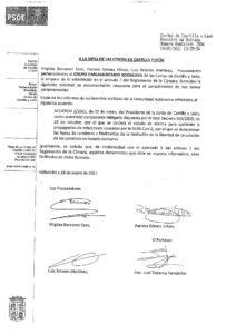 thumbnail of Peticion documentación informes servicios juridicos, toque de queda